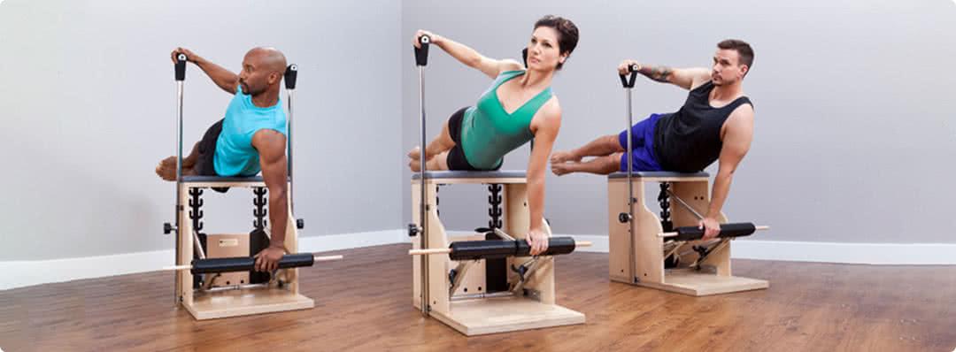 krzesła pilates firmy Balanced Body