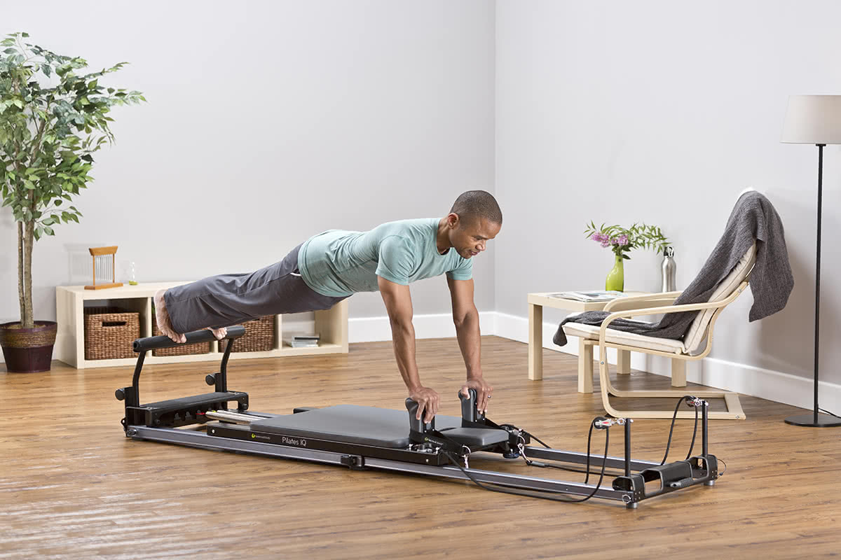 Balanced Body Pilates IQ Reformer w użyciu