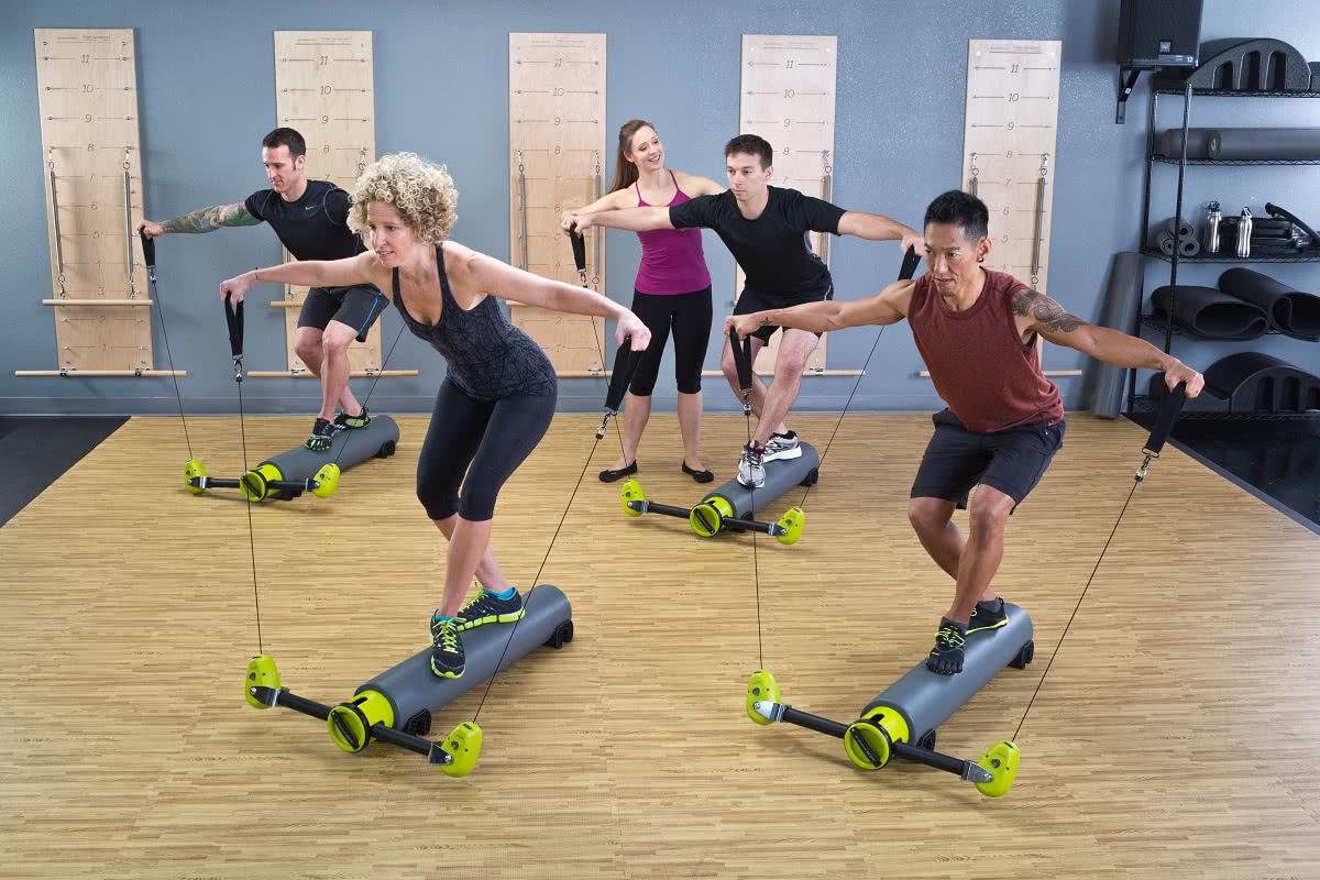 Balanced Body Pilates MOTR w użyciu
