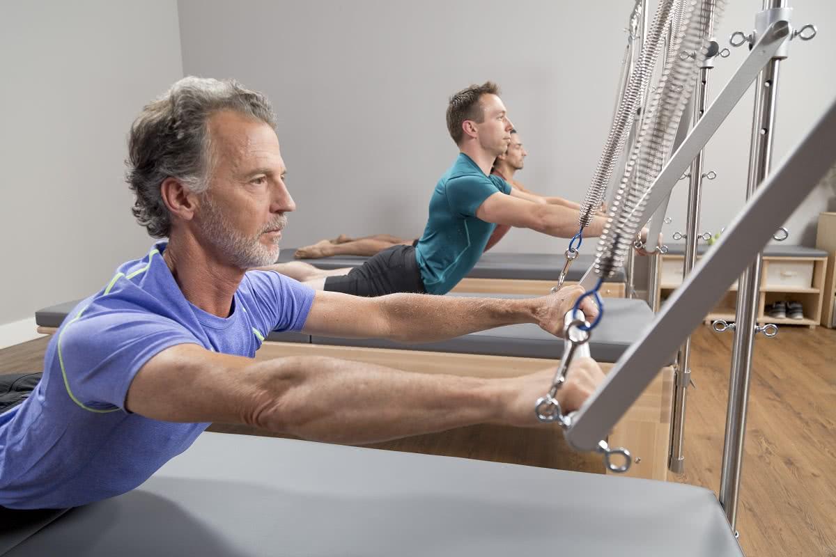 Balanced Body Pilates Studio Reformer with Tower wużyciu