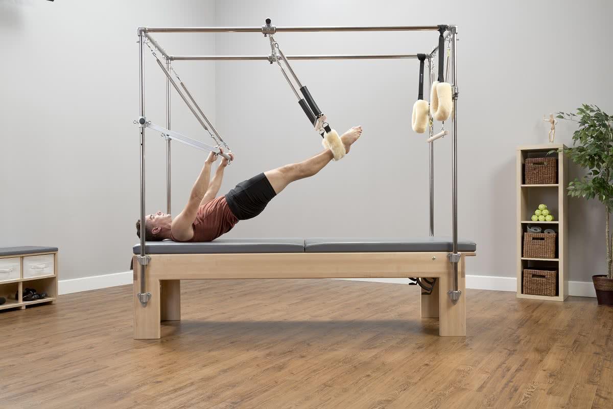 Pilates Reformer Trapeze Combination w użyciu