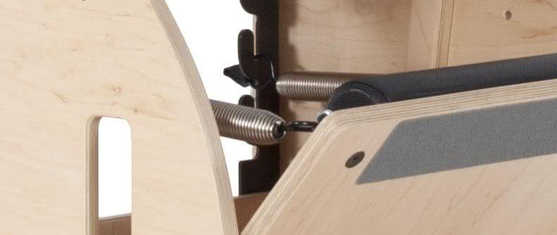 Krzesło Balanced Body Pilates Wunda Chair - sprężyny