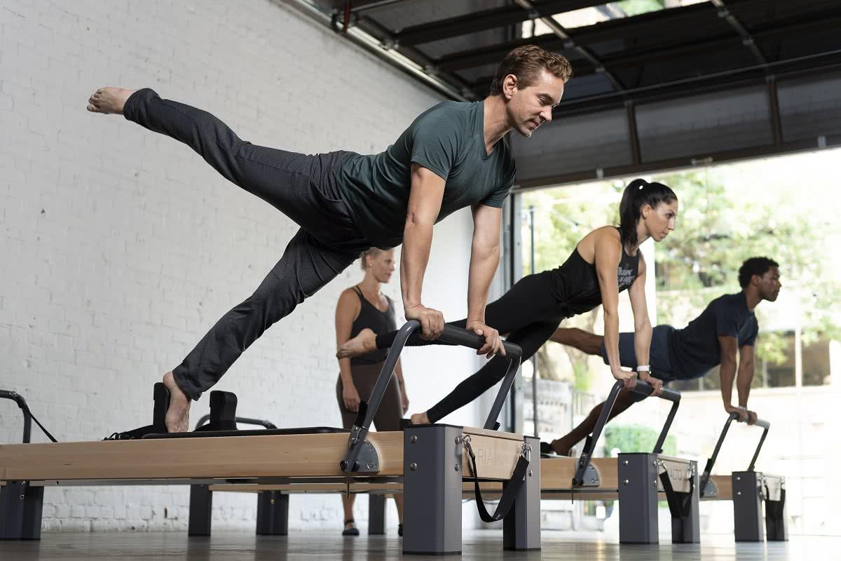 Balanced Body Pilates Rialto Reformer w użyciu