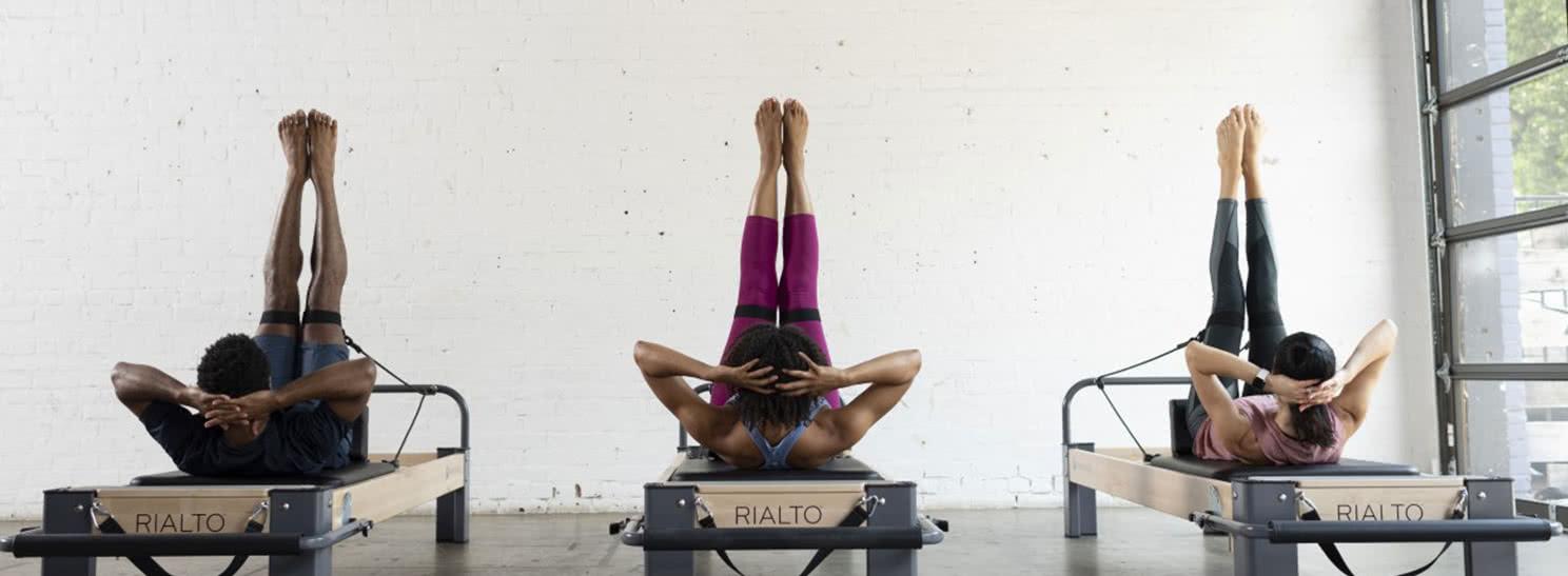 Reformery z wieżą pilates firmy Balanced Body