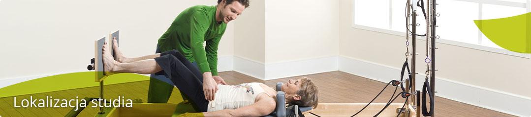 lokalizacja i plan studia pilates