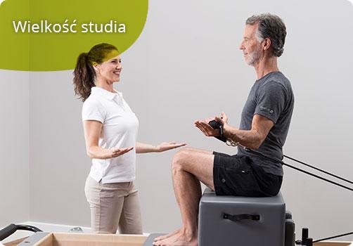 wielkość studia pilates - małe czy duże?