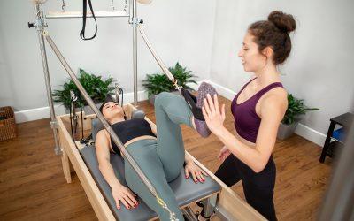 Ruch wspomagający, czyli rehabilitacja w pilatesie cz.1